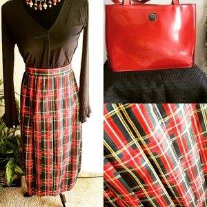 Plaid Vintage Skirt